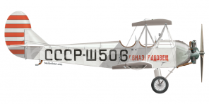 Polikarpov U 2 side views