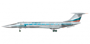 Tupolev Tu 134UBL side views