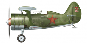 Polikarpov I 15bis side views