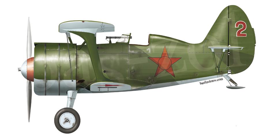 Polikarpov I-15bis