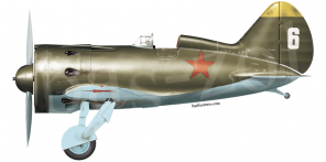 Polikarpov I 16 type 24 side views