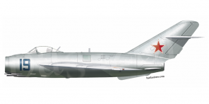 Mikoyan MiG 17 side views