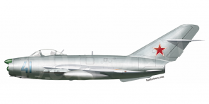 Mikoyan MiG 17P side views