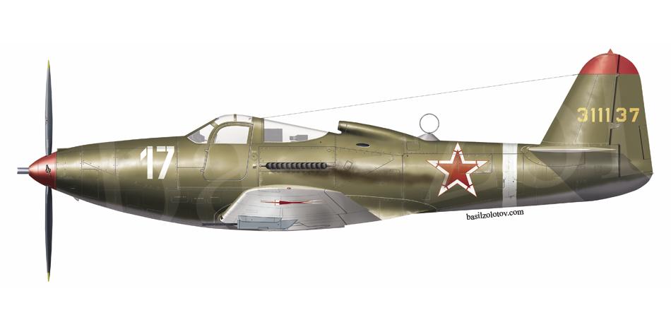 Bell P-63C-5 Kingcobra